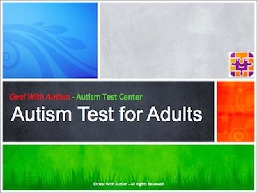 Autism Test for Adults - Checklist based