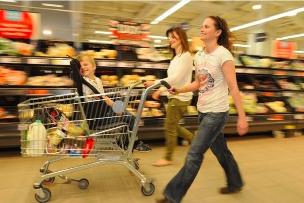 Shopping with Autistic Child