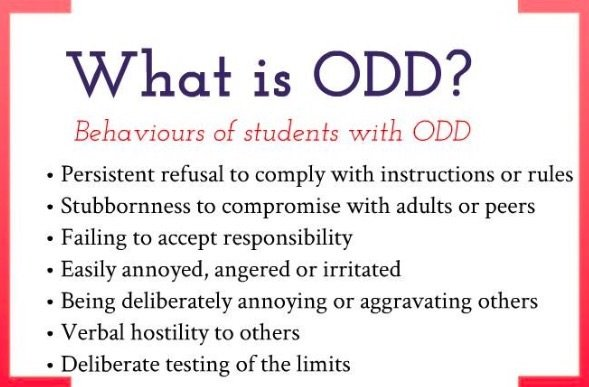 What is Oppositional Defiant Disorder