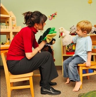 Puppet play to simulate speech-action coordination in Echolalia Autism is an excellent technique