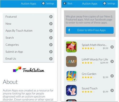 Autism Apps - A Catalog of Apps for Kids with Autism